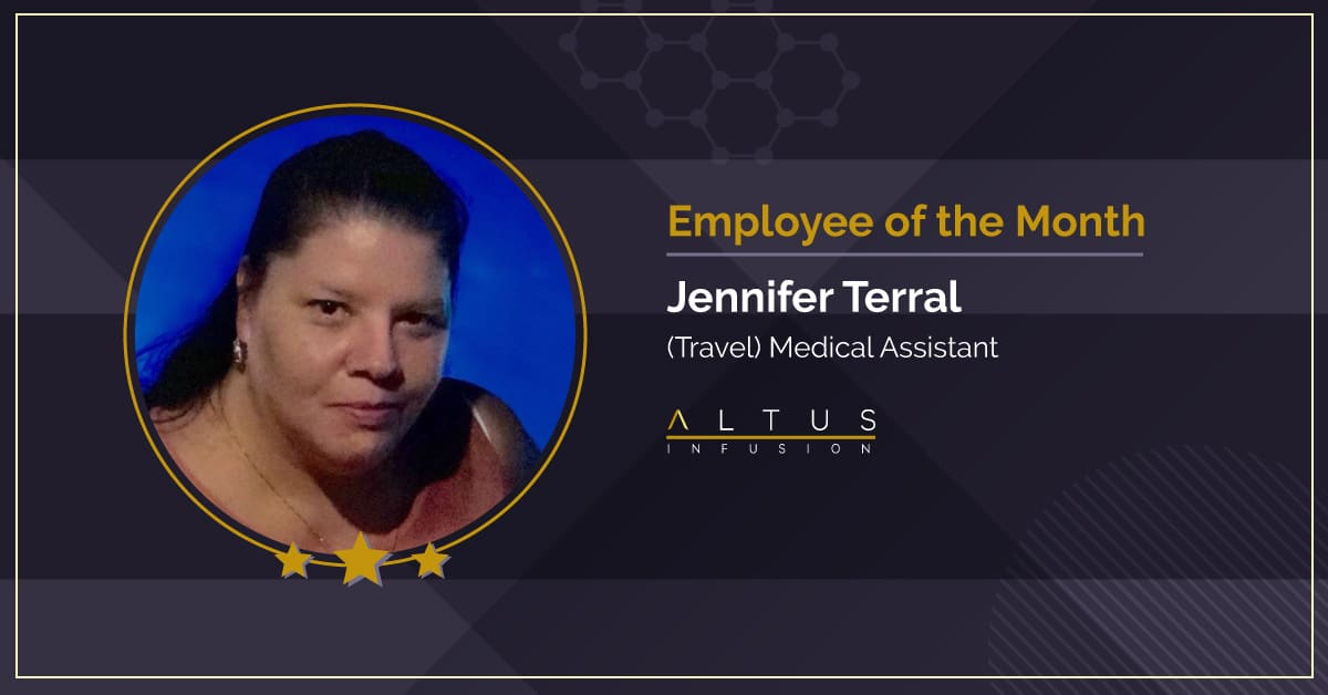 Jennifer Terral - October Employee of the Month