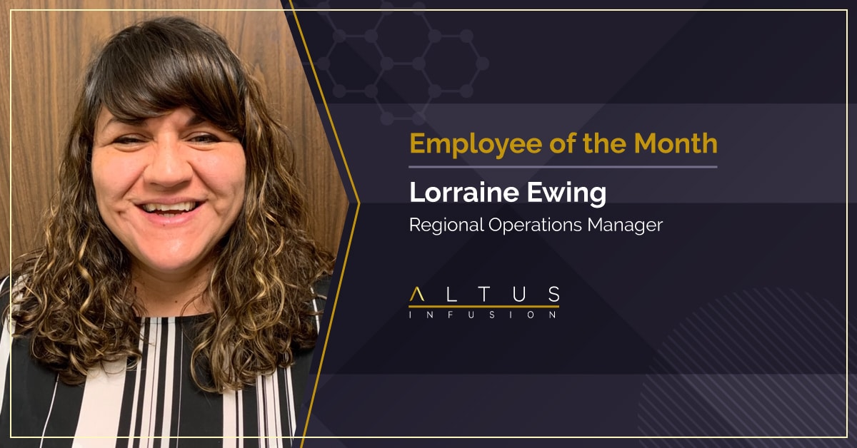 Lorraine Ewing, November Employee of the Month
