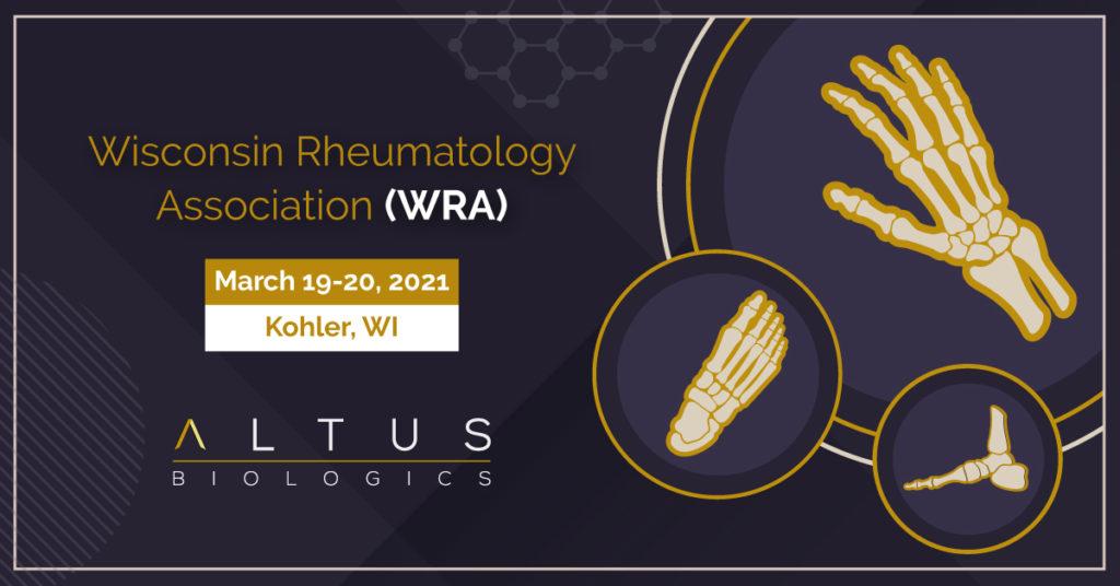 Wisconsin Rheumatology Association 2021 Annual Meeting